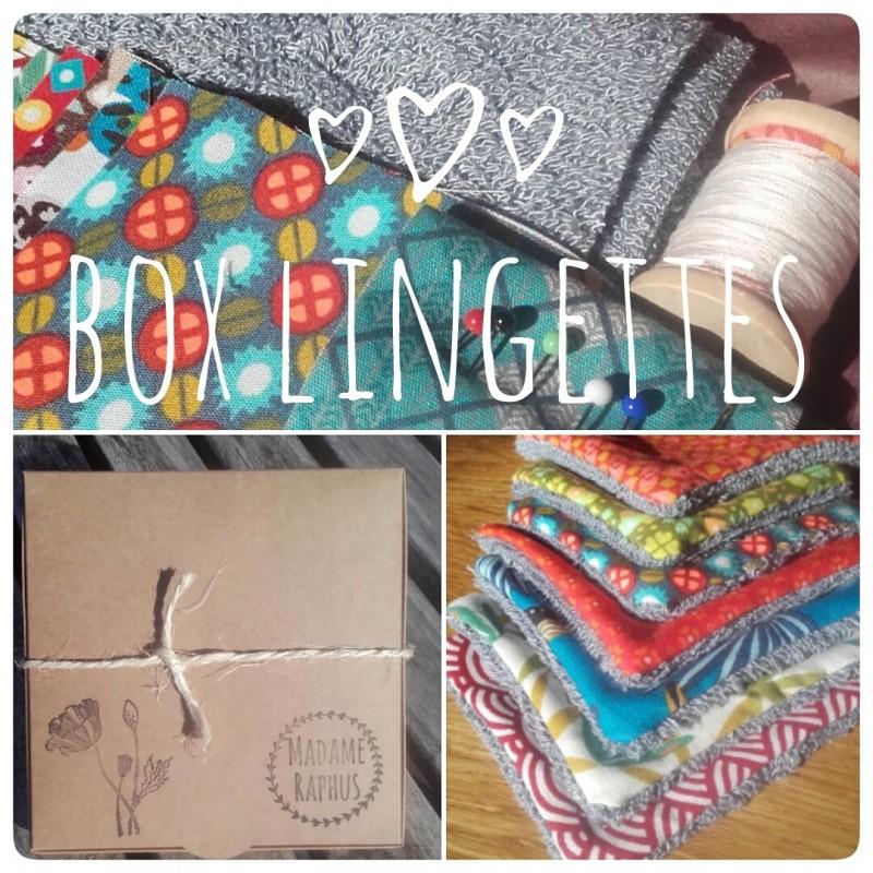 box couture lingettes
