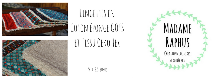lingette coton gots